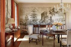 The Aesthete: Printed Wall Coverings Photos | Architectural Digest