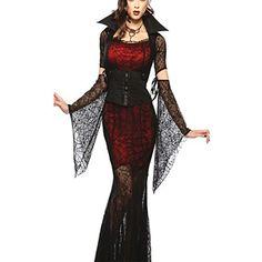 Partiss Damen Vampir Vixen Fee Schwarze Kostueme Spidergirl Hexe Teufel Halloween Dress (38,Black) Partiss http://www.amazon.de/dp/B014QK4JOM/ref=cm_sw_r_pi_dp_eWt5vb0CPS25C