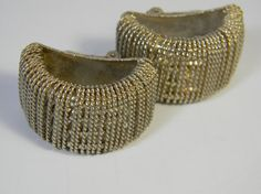 Vintage  earrings   gold tone  clip ons  extra by FeliceSereno, $5.00