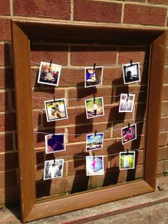 I'm A Celiac: Instagram Picture Frame DIY