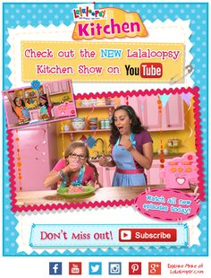 Disclosure: I did not receive anything in exchange for this post. Lalaloopsy has a BRAND NEW baking show, Lalaloopsy Kitchen, that airs every other Wednesday on the Lalaloopsy Youtube channel.