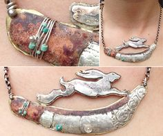 Necklaces hand crafted necklaces are made using silver, copper, brass and gold inspired by landscape .