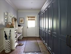 add a space behind the garage for a mudroom & possible laundry room...ks...