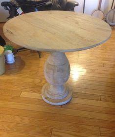 West Elm Pedestal Bistro Table