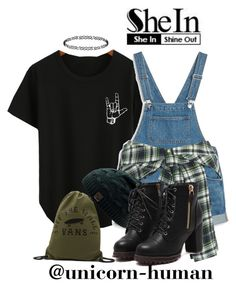 """""""Untitled #1858"""" by unicorn-human ❤ liked on Polyvore featuring Monki, Faith Connexion, Vans and Dorothy Perkins"""