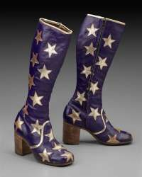Pair of woman's boots  English 1969