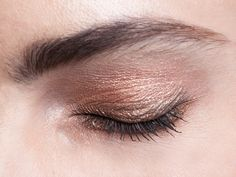 Copper metallic eye…Rachel Roy Fall '13- Fashion Week with Bobbi Brown Cosmetics #Bobbi4RR