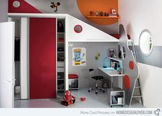 Kid's Bedroom Furniture: Exciting Loft Bed Designs | Home Design Lover
