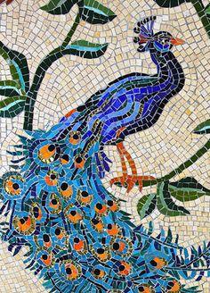 Sanctuary floor mosaic, Church of the Transfiguration (Rock Harbour, Orleans, Massachusetts)
