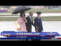 President Obama Doesn't Care About The Rain - YouTube