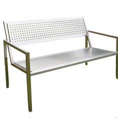 Bench, Storage, Furniture, Home Decor, Luxury, Stainless Steel, Purse Storage, Decoration Home, Room Decor