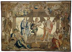 De vier elementen en de tijd, Everaert Leyniers, Jan van den Hoecke, Jan van den Hoecke, ca. 1650 - ca. 1680