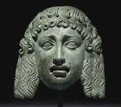 Roman Mask  1st century AD  Christie's