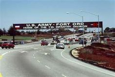 FT ORD in CA!!! This is where my Hometown is/ next to MARINA CA!! Oh how I MISS FT ORD!!!!!