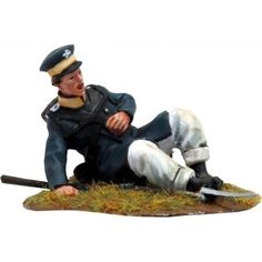 NP 294 Prussian Landwehr wounded Metal Toys, Toy Soldiers, Army, Military