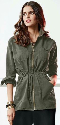 Military Fashion, Tunic Tops, Rompers, Shirt Dress, Shirts, Dresses, Women, Modeling, Vestidos