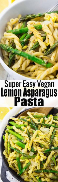 Pasta mit Spargel in Zitronensauce Wanted spring recipes? Then this pasta with asparagus in lemon sauce is just right for you! I love pasta recipes. Whole Foods, Whole Food Recipes, Pasta Recipes, Dinner Recipes, Cooking Recipes, Cake Recipes, Vegetarian Recipes, Healthy Recipes, Spring Recipes