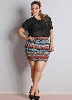 That skirt surely went into the dryer Curvy Fashion, Womens Fashion, Mini Skirts, Women's Fashion, Ladies Fashion, Mini Skirt, Fashion Women, Feminine Fashion, Woman Fashion