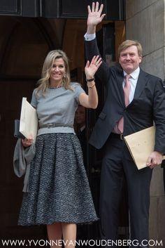 Koning Willem-Alexander en Koningin Máxima bij uitreiking van Grote Prins Claus Prijs 2015 | Dec. 2, 2015.
