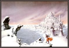 Castle Dragonscar: 1970s Fantasy Art: More Rodney Matthews Awesome