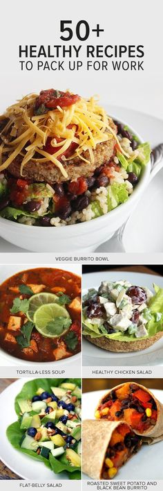 60+ Healthy Lunches That Help You Lose Weight #healthy #lunches #nutrition #fitness #recipe #mybikinibod