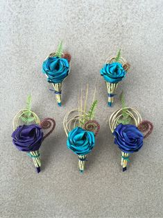 Paua bridal wedding bouquets created from flax flowers. Flax Weaving, Flax Flowers, Floral Arrangements, Wedding Bouquets, Bridal, Landscape, Create, Plants, Collection