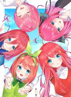 Read The Quintessential Quintuplets / no Hanayome Best Manga Online in High Quality Manga Girl, Anime Manga, Anime Art, Familia Anime, Estilo Anime, Beautiful Anime Girl, Kawaii Anime Girl, Anime Characters, Character Art