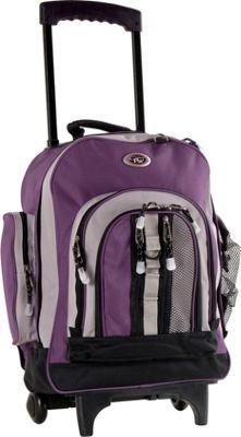 "CalPak Awestruck 18"" Rolling Backpack Purple/Baby Lavender - via eBags.com!"
