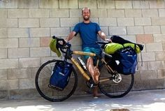 Here's How One Guy Is Making A Difference By Riding His Bike Cross Country.