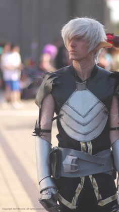 #Fenris - Dragon Age 2 - Cosplay  This is actually the best cosplay I've seen so far.