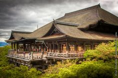 One of the most visited temple of all Japan is Kiyomizu temple, in Kyoto-city. Thus the temple o Kiyomizu Temple, Buddhist Temple, Japanese Buddhism, Travel Memories, Most Visited, Japan Travel, Vacation Spots