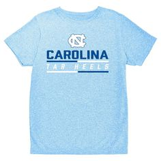 NCAA Boys' Hail Mary Bi-Blend Crew Neck T-Shirt North Carolina Tar Heels - XL, Multicolored