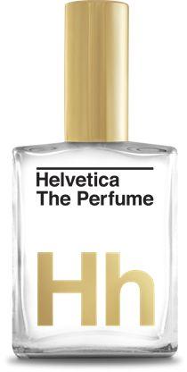 Helvetica, het parfum