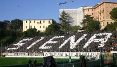 Coreografia del siena con il nome della città!