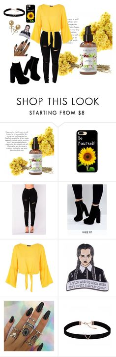"""""""Sun flowers"""" by alexloved on Polyvore featuring ASOS, Topshop, Astrid & Miyu and Bling Jewelry"""