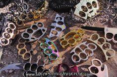 Brass Knuckles - website for self defense tools
