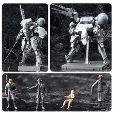 (affiliate link) Metal Gear Solid V: The Phantom Pain Sahelanthropus Model Kit