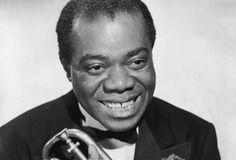 Louis Armstrong (1901 - 1971) The Godfather of Jazz and the greatest musician of his time.
