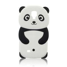 Carcasa en silicona de alta calidad con la forma de un divertido oso panda.