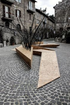 TreeIt by nITro is a public bench inspired by the work of architect Dario…