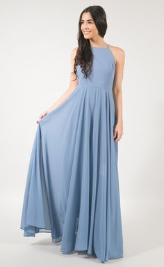 Make a stunning debut in our newest obsession - the Reign Maxi Dress. This dress will make you never want to take it off. Perfect for bridesmaids or for engagement photos. Have a blast and twril in it