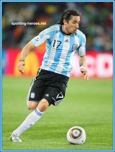 Jonas Gutierrez - Argentina - FIFA Copa del Mundo 2010