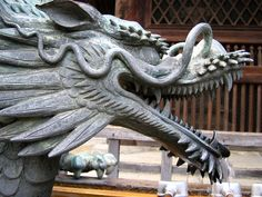 Kiyomizudera Temple Dragon