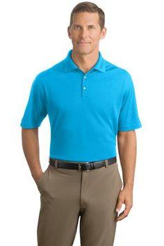 Nike Golf - Dri-FIT Micro Pique Polo Style 363807 Tidal Blue on sale now at sweatshirtstation.com #menspolos #nikegolf #golfshirt