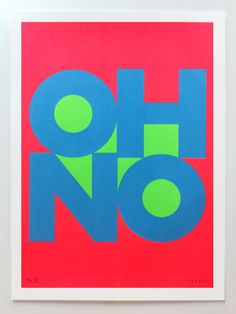 "james joyce ""oh no"" poster - so awesome!"