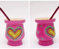 Yuki Deco (@deco.yuki)   Instagram photos and videos Painted Flower Pots, Painted Pots, Hand Painted, Paper Mache Bowls, Decoupage Art, Posca, Terracotta Pots, Clay Pots, Paint Colors