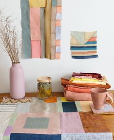Join us on Thursday December from to for a holiday experimental quilting workshop. We will be hosted by at… Pretty Things, Creative Textiles, Textile Artists, Textile Patterns, Fabric Art, Colorful Interiors, Paper Dolls, Fiber Art, Decoration