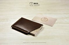 MICO Card holder / Card Wallet v2 by MicoHandicraft on Etsy, $160.00