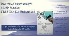 Meet Ellory today! http://www.amazon.com/Short-Sincere-Life-Ellory-James-ebook/dp/B017G7CLWO/ref=asap_bc?ie=UTF8