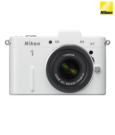 Nikon 1 V1 10.1MP SLR with 10-30 mm Kit Lens (White)